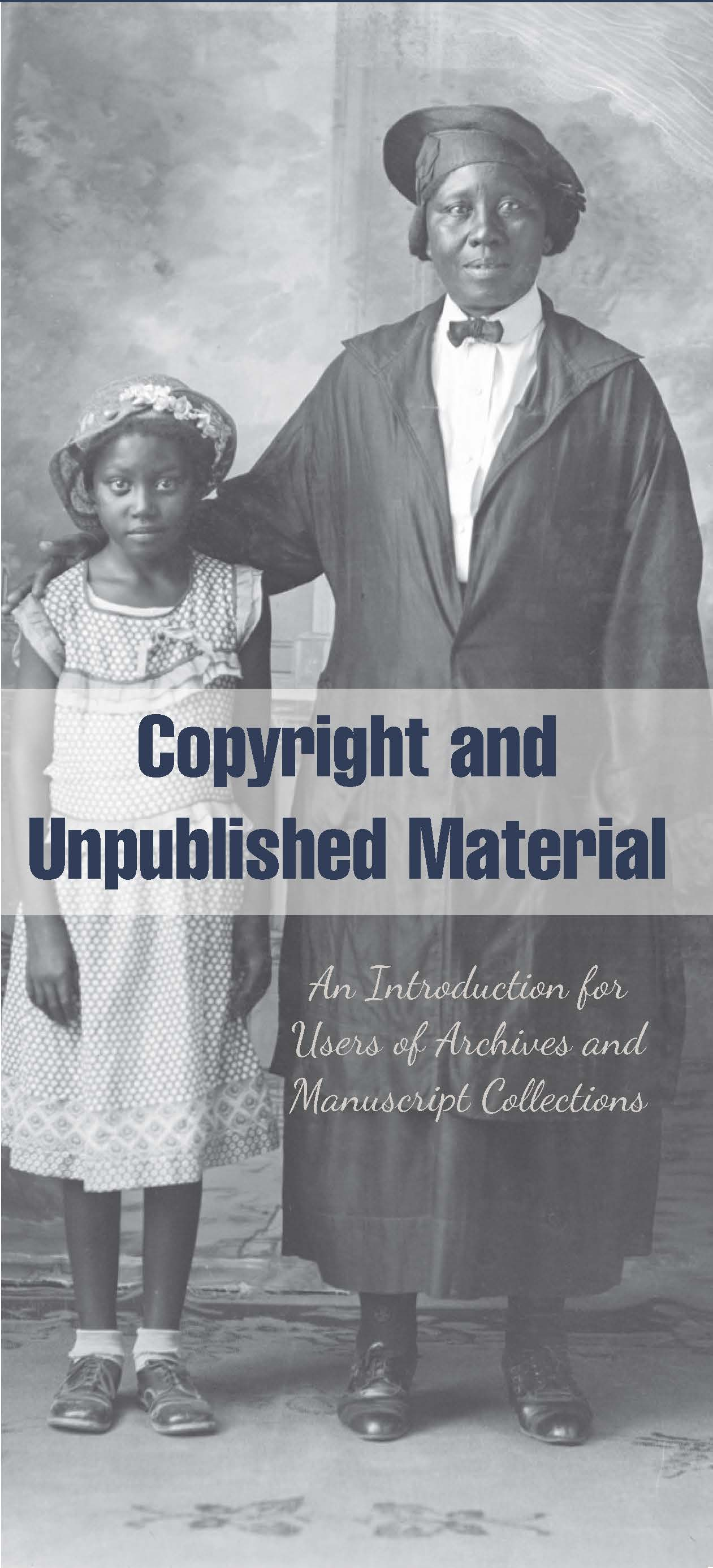 copyright and unpublished material society of american archivists