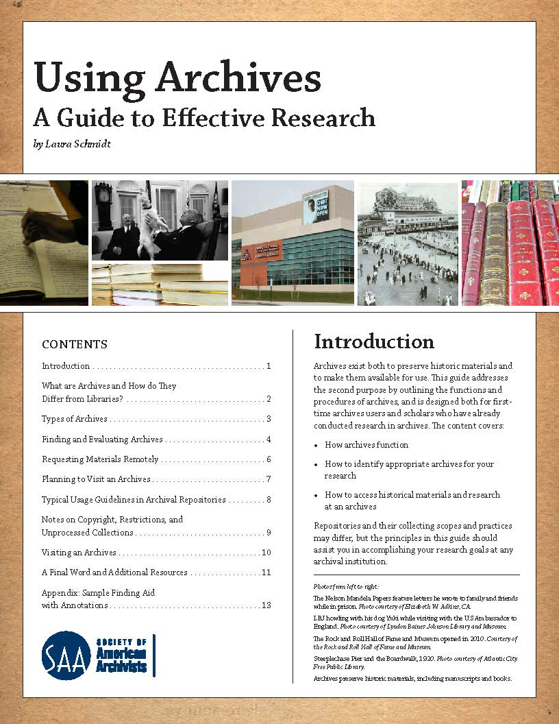 write archival research paper The print books below may be helpful to you as you learn how to do archival research and to write papers in this class the books can be checked out by coming to the library  the research paper: a guide to library and internet research by dawn rodrigues raymond j rodrigues call number: 808027 r618r 2003.