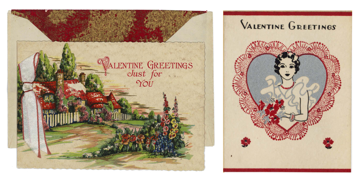 In the late 1920s, Hallmark's product line included 300 card designs for Valentine's Day. The company now offers more than 1,500 Valentine's Day cards to meet a variety of diverse relationship needs (Courtesy of Hallmark Cards, Inc.).