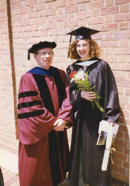 Dr. Frank Burke and Jodi Allison-Bunnell, University of Maryland, May 1996