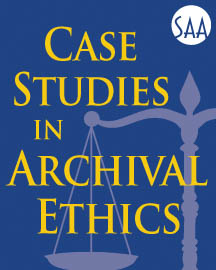 Case Studies in Archival Ethics Logo
